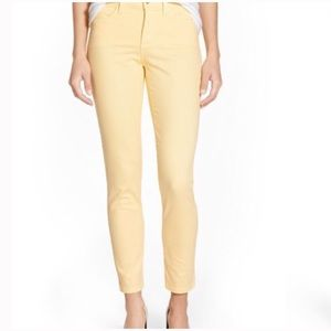 🆕Yellow skinny ankle jeans